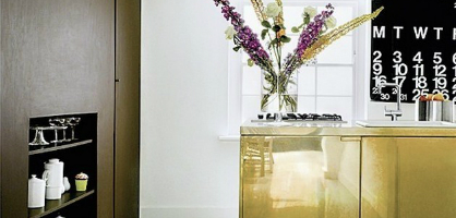 3 Incredibly Bold And Stylish Ways To Use Brass In Kitchen Design