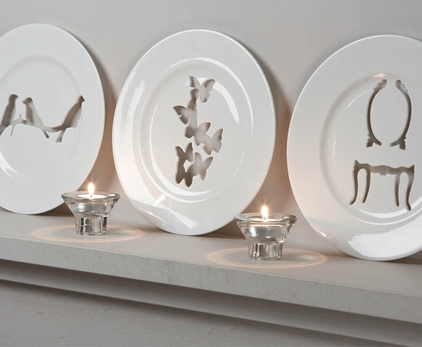 Decorative Silhouette Wall Plates