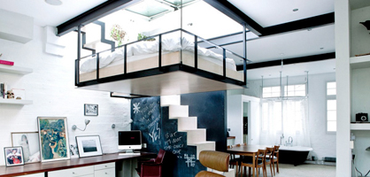 Most Amazing Loft Bedroom Designs