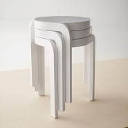 Stylish Spin Stool by Staffan Holm