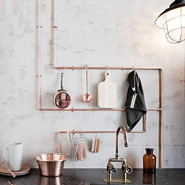 Using Pipes In Home Decor